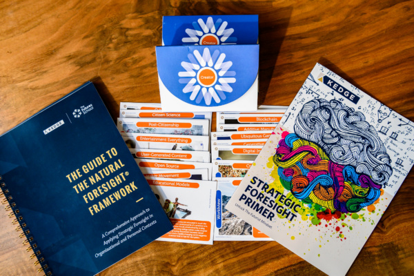 TFS Printed Materials, trend cards, The Guide, and The Primer